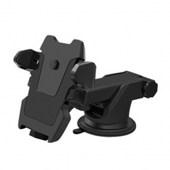 Car Mount Holder for Smartphone Audio Video Dash Windshield Holding Mounting Kits blackA one size