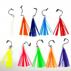 Dust Plug Reflective Tassel Earphone Ear Jack Cell phone Charm Bag Accessories multicolor one size