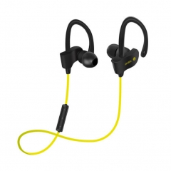 Wireless Bluetooth Headset Earbud Ear Stereo Sports Earphones yellow