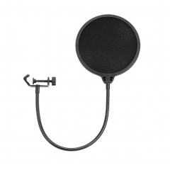 6-Inch Microphone Pop Filter Studio Mic Wind Screen Pop Filter Mask Shield