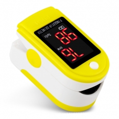 Fingertip Blood Oxygen Saturation Meter Pulse Oximeter Heart Rate Monitor LED yelloe 1