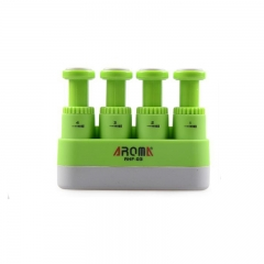 Adjustable Finger Strengthener Hand Exerciser for Guitar Piano Sport , Therapy green
