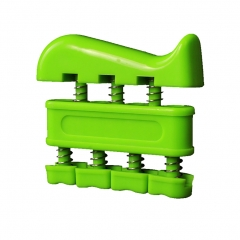 Finger Strengthener Bidirectional Hand Exerciser for Guitar, Piano, Sport , Therapy green 1