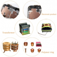 Copper Foil Tape, Double-sided Conductive Adhesive for EMI Shielding,Stained Glass,Paper Circuits 1 12mm 100g