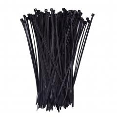 Self-Locking Nylon Cable Ties 8'' Zip Ties Black & White 200 Pieces 1 black &white combin