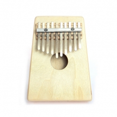 Kalimba Thumb Piano 10 Key Mbira Hollow Pine Education Toy Musical Instrument original wood