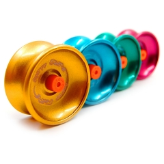 Yoyo Professional Spin Control Responsive Yo-yo Balls for Kids with String 4pcs Assorted Colors multicolor one size