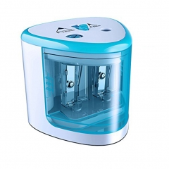 Electric Pencil Sharpener Classroom Office Automatic Pencil Cutter for Kids, Adults, Artists Blue one size