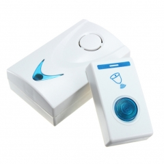 Doorbell Wireless Long Range Doorbell, Remote Buttons Operating 32 Tune Songs blue one size