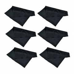 (6 Pack) Microfiber Cleaning Cloth black pack of 6