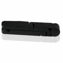 Smart Phone and Tablet Stand Plastic Cellphone Holders for iPhone / iPad / Samsung Galaxy balck one size