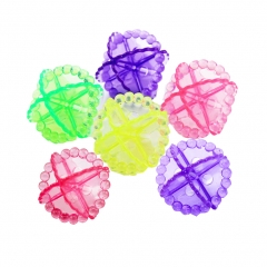 Laundry Ball Washing Ball, Set of 6  2 inch multicolor pack of 6