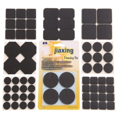 Furniture Felt Pads Round and Square Assorted size Protect Your Floor 135pcs black