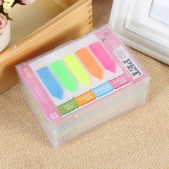Sticky Notes Funny Memo Pad Sticker Cute Rainbow Color Office Note Pad mliticolor one size