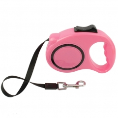 Retractable Dog Leash 16 Feet for Medium and Small Dogs Training, Backyard Use, Walking Dogs pink one size