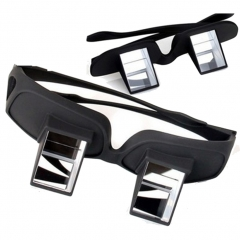 Prism Bed Reading Glasses Laying in TV Book Reading Lazy Periscope Eyeglasses Spectacles  1. black small