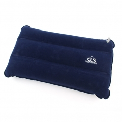 Camping Inflatable  Air  Pillow Ultralight Compressible 17.3in × 10.6in for Travel blue