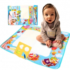 Education Drawing Magic Mat for Kids, Toddlers, Painting Writing with Water Pen and Drawing Template multicolor one size