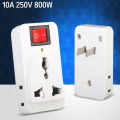 Travel Adapter Plug Charger Wall AC Power Plug Adapter Multi Socket Outlet International 1 one size