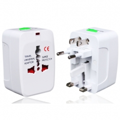 Travel Adapter Plug Charger Wall AC Power Plug Adapter Multi Socket Outlet International Worldwide 1 one size