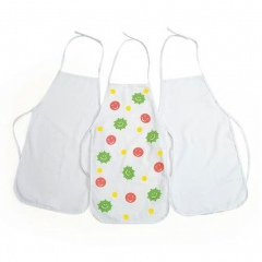 Young Artist DIY Drawing Painting Smock White to be Decorated Kids Apron Set of 3 random color one size