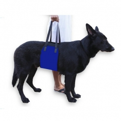 Dog Lift Harness Support Sling Helps Dogs With Weak Front or Rear Legs blue m