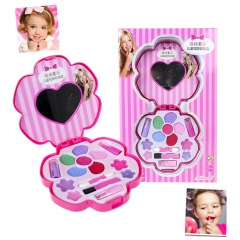 Girls Cosmetic Make up Kits with Mirror Play Set Cute Girl Gift one color one size