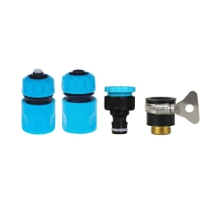 Garden Hose Quick Connector Starter Set Connect Adapter for Sprinklers Spray Nozzles