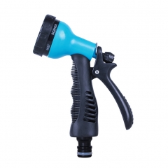 Garden Hose Nozzle Hand Water Sprayer 6-Way Water Patterns for Car Pets Washing