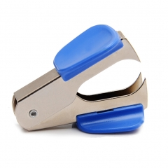 Staple Remover Extra Wide Steel Jaws with Safe Lock for 24mm/26mm Staple Office Supplies blue 1