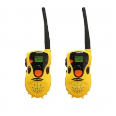 Kids Walkie Talkie 54 Yards Range Pretend Interactive Play Toy (1 Pair Yellow) yellow one size
