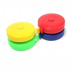 Tape Measure 150cm 60in Soft Push Button Retractable Tape Measure  Random Color ramdon 2 pcs