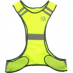 Reflective Vest Set Safety Adjustable Vest,Slap Band, Sticker, Key Chain High Visibility Sports Gear adult 1