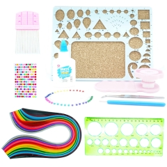 Paper Quilling Set 26 Assorted Colors 780 Sheet with 11 Quilling Kit Include Mold,Workboard Comb muti-color 7mm