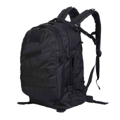 3D Military Tactical Rucksacks Outdoor Backpack High Capacity Waterproof Pack black one size