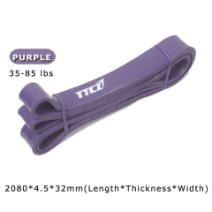 Exercise Resistance Loop Bands Crossfit Strength Weight Training Fitness Yoga purple one size