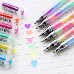 Highlighter Pen Multicolor Marker Sketching Drawing Painting Writing Pen for Book  Journal Art