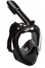 Diving Mask Diving Equipment Diving Hood Full Dry Breathing Tube Swimming Masks Outdoor   Equipment black S/M