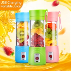 Portable Blender USB Charger Fruit Juicer Cup Rechargeable Juice Blender and Mixer