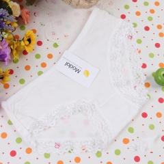 Modal Women Underwear Sexy Lace Briefs Panties Underpants Lingerie Knickers white free size