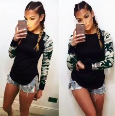 Fashion Women Casual Long Sleeve Hoodie Jumper Pullover Sweatshirt Tops Shirt black s