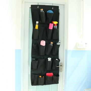 20 Pocket Over the Door Shoe Organizer Rack Hanging Storage Hanger Space Saver Beige
