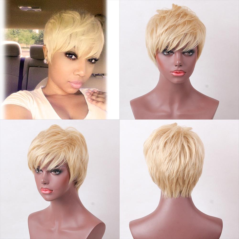 Kilimall: Women\'s Short Fluffy Charming Hair High Temperature Human ...