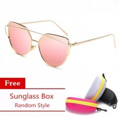 Women's Fashion Aluminum Sunglasses Polarized UV400 Lens Sun glass Eyewear Accessories Pink Pilot