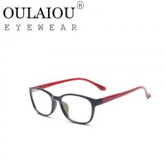 Oulaiou Fashion Accessories Anti-fatigue Popular Eyewear Reading Glasses OJ630 Red
