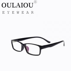 Oulaiou Fashion Accessories Anti-fatigue Popular Eyewear Frames Reading Glasses OJ150 black