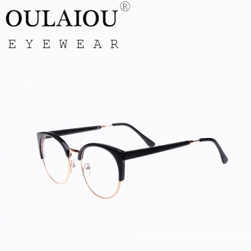 Oulaiou Fashion Accessories Anti-fatigue Popular Eyewear Frames Reading Glasses OJ29417 black