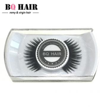 BQ HAIR New False Eyelashes Handmade Black Long Thick Natural Fake Eye Lashes Extension As a Gift Black 1cm