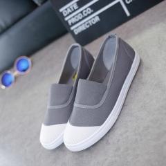 Fashion Flats  Shoes Woman Slip On Female Shoes Ladies  Casual Womens  Black White Shoes white 35