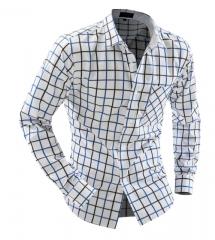 Brand Men Long Sleeve Fashion Shirts Casual Male Camisas Dress Shirts 01 m